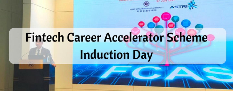 Fintech Career Accelerator Scheme Induction Day