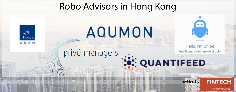 Robo Advisors in Hong Kong