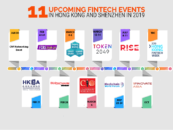 11 Upcoming Fintech Events in Hong Kong and Shenzhen in 2019