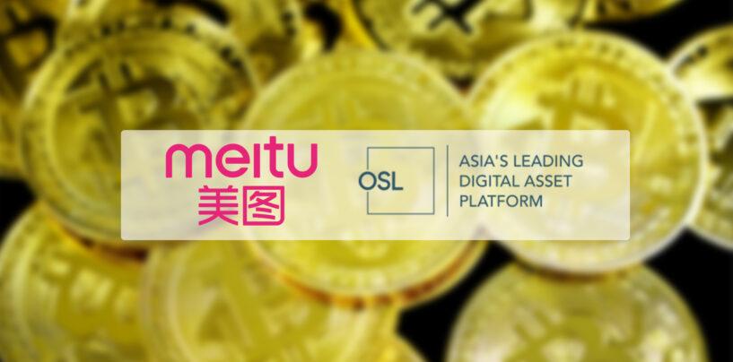 Hong Kong's OSL Facilitated Meitu's US$ 10 M Bitcoin Transaction