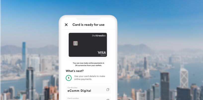 Airwallex Launches Online Card Payment Acceptance Solution in Hong Kong