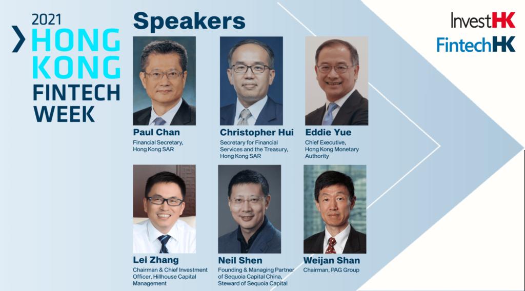 fintech week HK speakers
